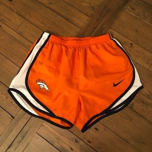 Denver Bronco shorts by Nike